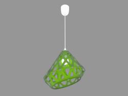 Lampe suspendue (lumière verte)