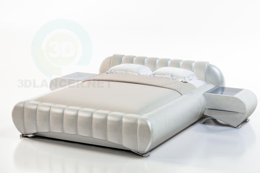 3d модель Кровать Гарда – превью