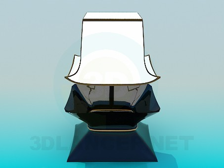3d модель Настольная лампа – превью