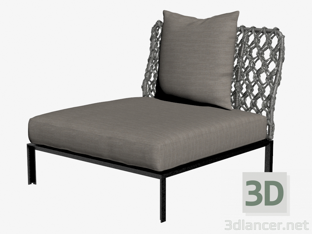 3d model outdoor chair manufacturer b b italia id 20555 for Outdoor furniture 3d model