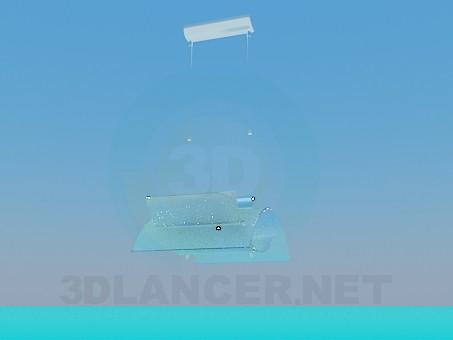 3d model Chandelier hightech - preview