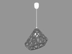 Lampe suspendue (lumière grise)