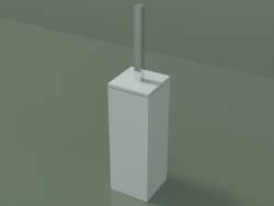 Toilet brush holder (90U06001, Glacier White C01)