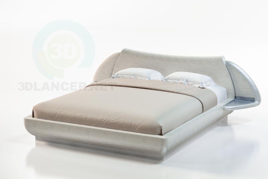 3d модель Кровать Гоби – превью
