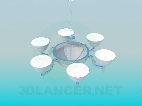 3d model Luces de lámpara 6 - vista previa