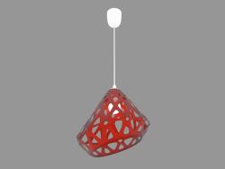 Lampe suspendue (lumière orange)