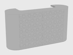 Bar counter ALEXANDER BAR SEQUENCE (200x60xH108)