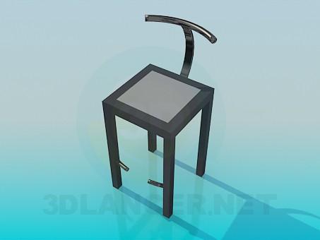 3d model Nouveau chair - preview
