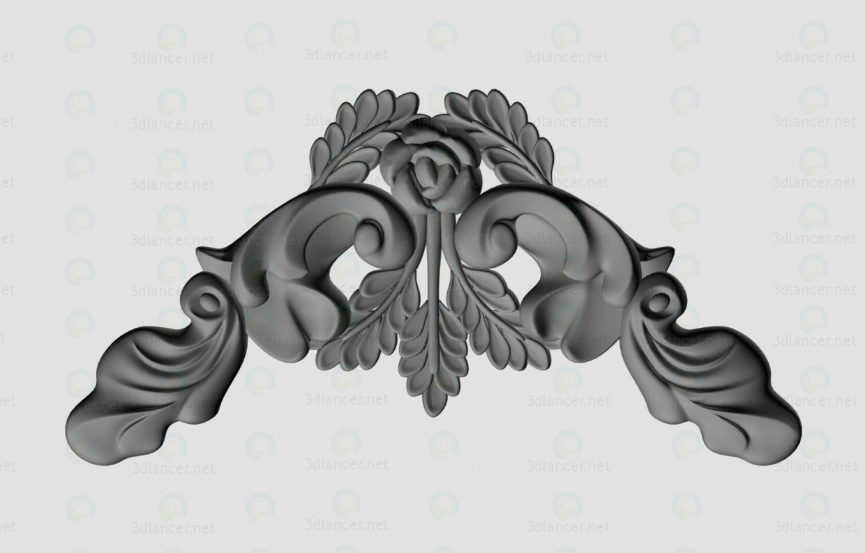 3d modeling Decorative moldings model free download