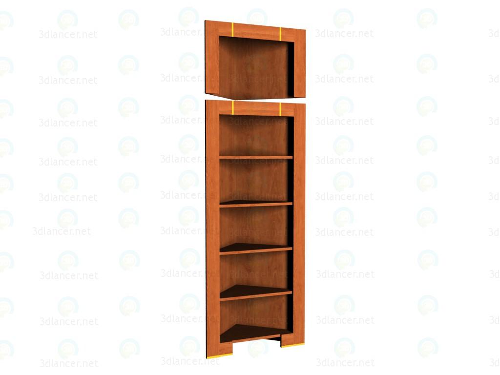 modelo 3D La esquina del estante con una extensión VOX - escuchar