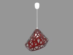 Lampe suspendue (rouge drk light)