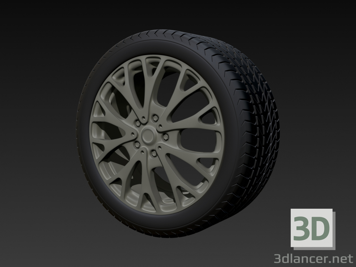 3d Tire model buy - render