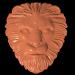 3 डी एक अयाल के साथ एक शेर का मुखौटा मॉडल खरीद - रेंडर