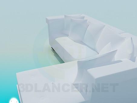 3d model Sofa-bed - preview