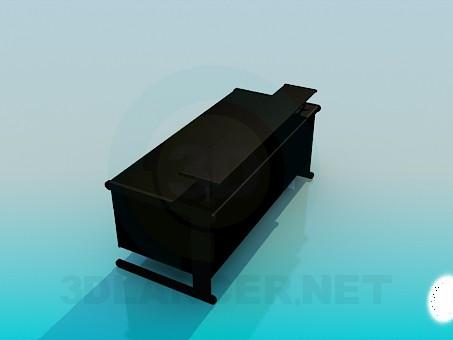 descarga gratuita de 3D modelado modelo Escritorio de la computadora