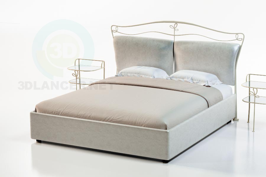 3d model Bed Laval - preview