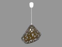 Lampe suspendue (jaune 2.1 drk light)