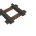 3d model rail - preview