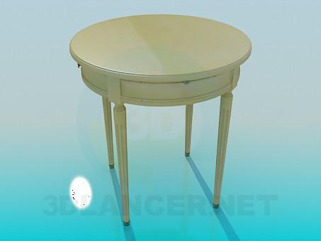 3d model Tea table - preview