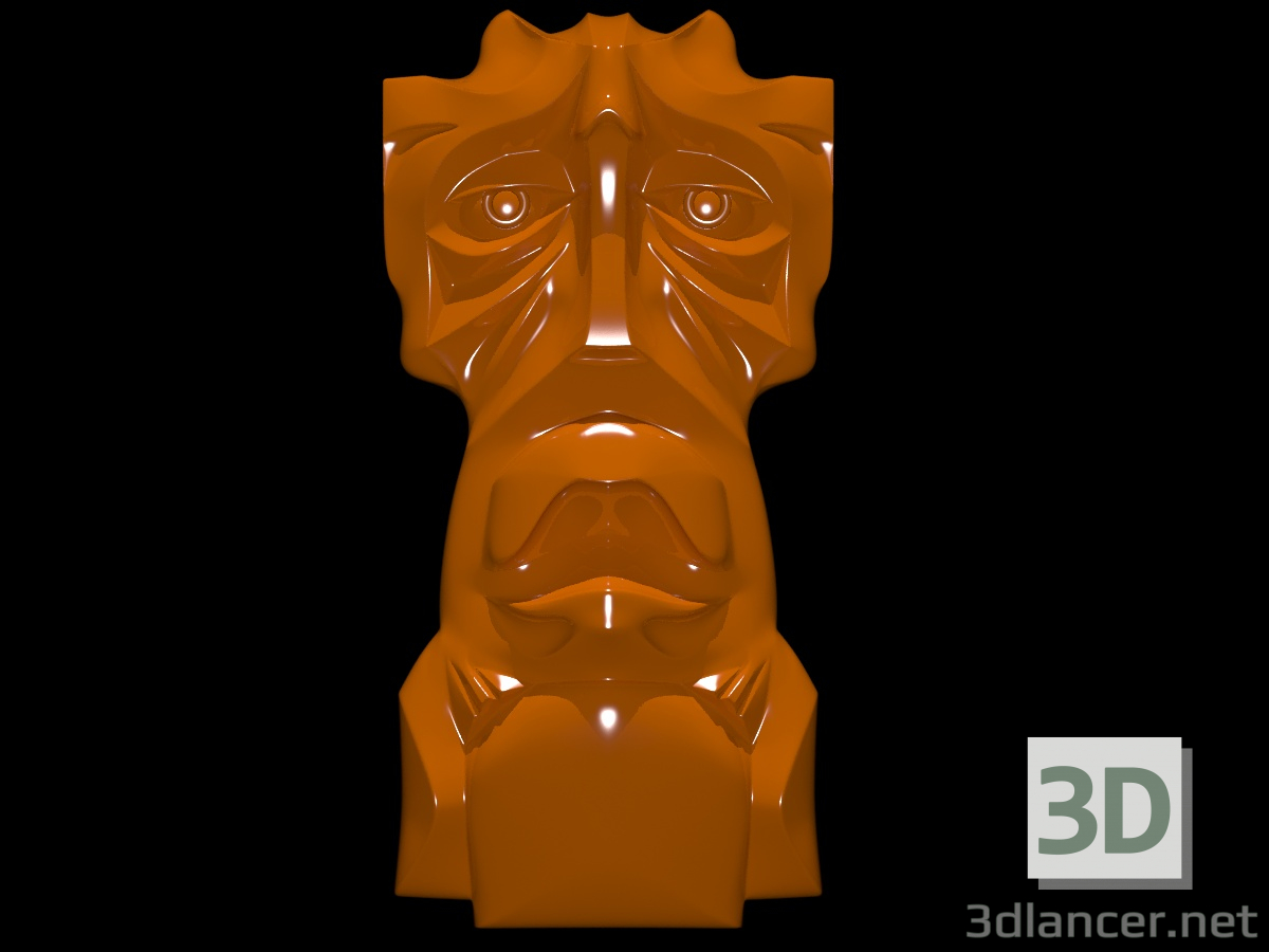 3d Pagan mask model buy - render