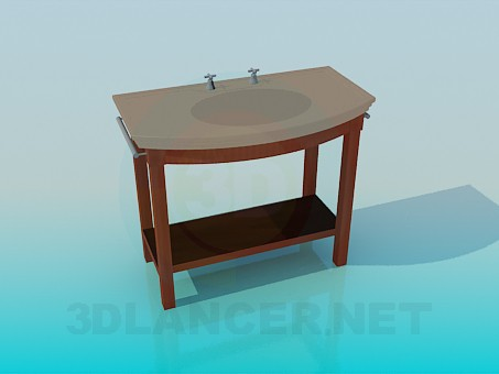3d model Wash stand - preview