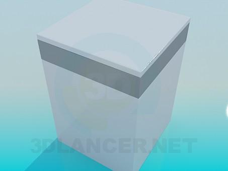 modelo 3D Lavadora - escuchar