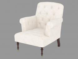 Fauteuil Easychair Victor Creme