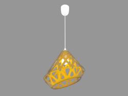 Lampe suspendue (jaune 2.1 lumière)