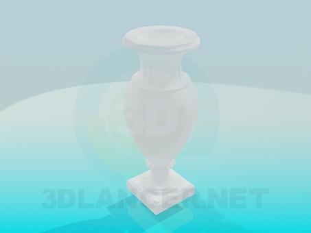 modelo 3D Vaso Interior - escuchar