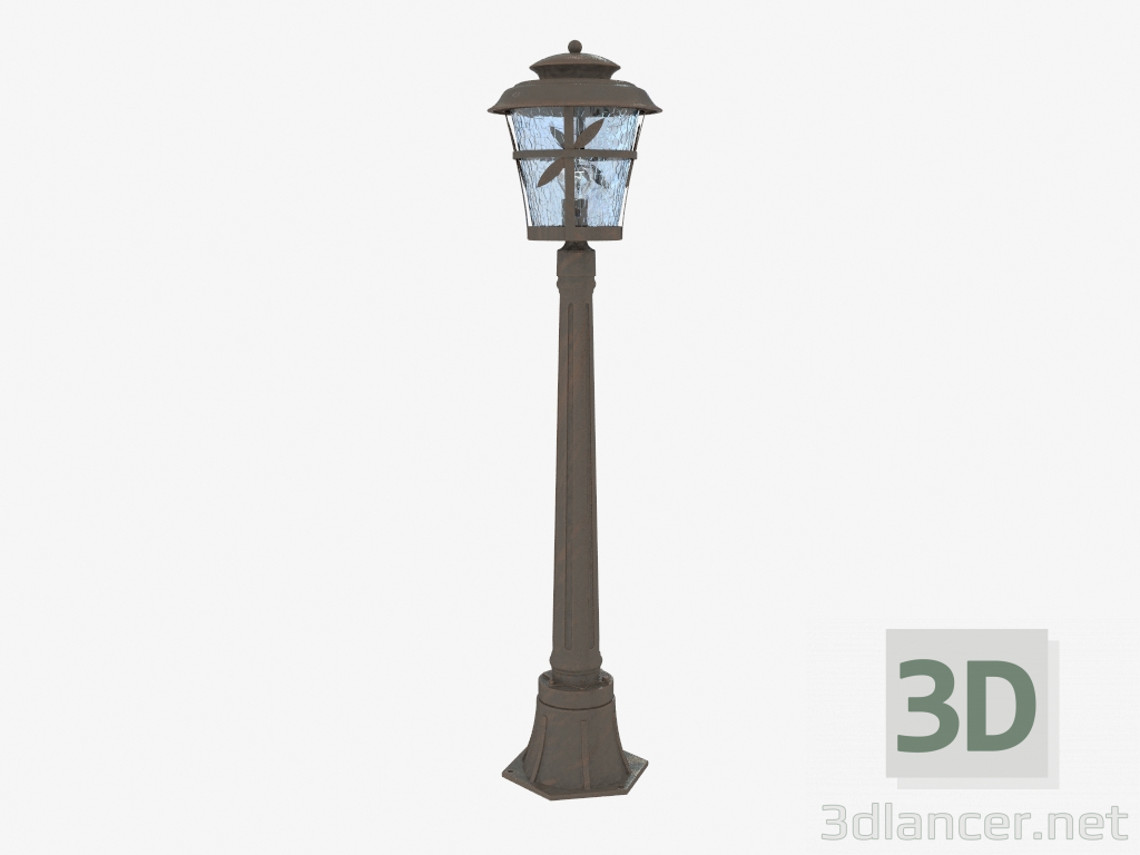 3d model Street lamp Aletti (4052 1F),Odeon Light max(2013), - Free