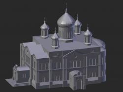 Diveevo. Trinity Cathedral