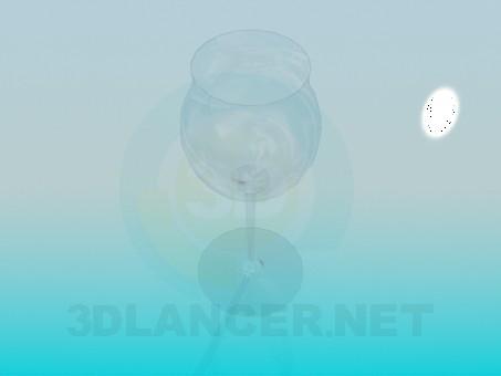 modelo 3D Copa de vino - escuchar