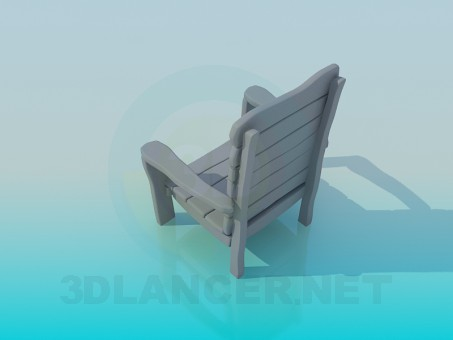 3d model Trestle-bed - preview