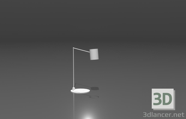 3d Table lamp model buy - render
