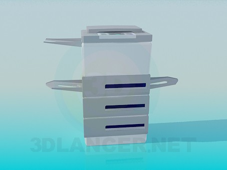 3 डी मॉडल फोटोकॉपी - पूर्वावलोकन