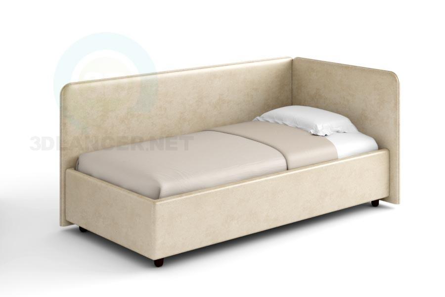3d модель Ліжко Лукас – превью