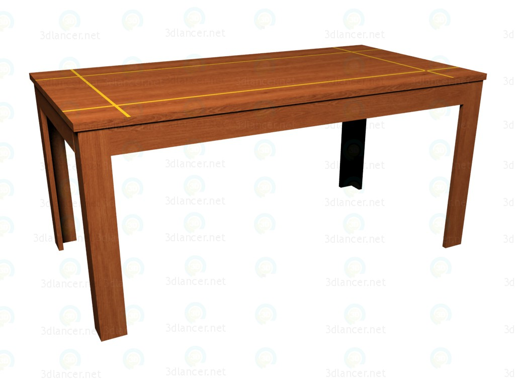 3d model Folding table 250 - preview