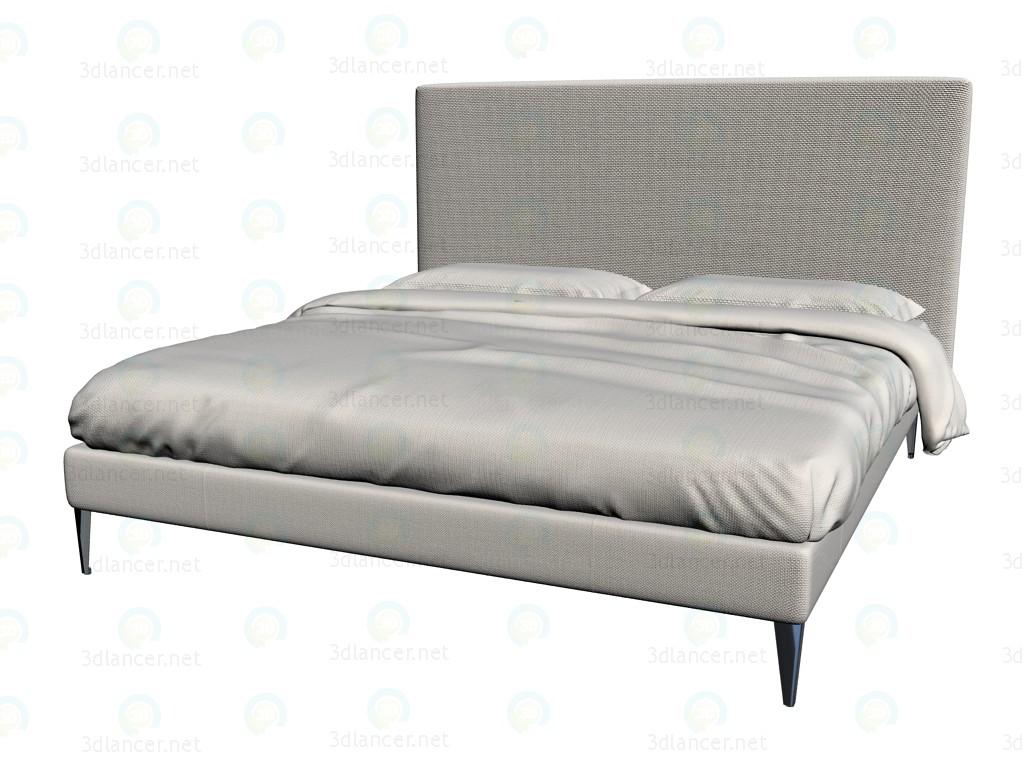 3d модель Кровать 9846 4 – превью