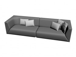 Sofa 244 (a combination of 2)