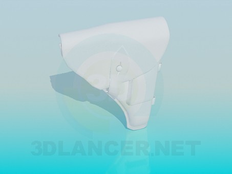 3d modeling Holster model free download