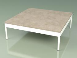 Coffee table 351 (Metal Milk, Farsena Stone)