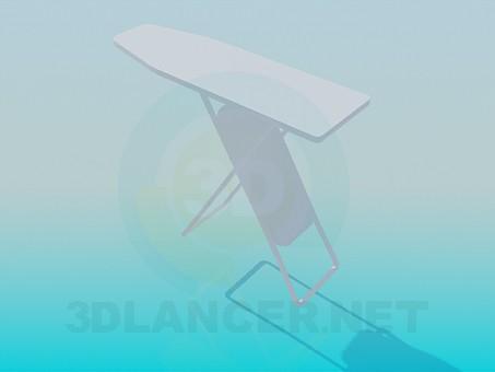 3d моделирование Гладильная доска модель скачать бесплатно
