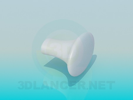 3d model furniture knob - preview