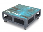 LOFT ART coffee table