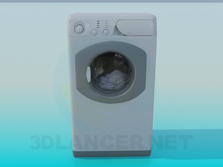 3d model Washing Machine - preview