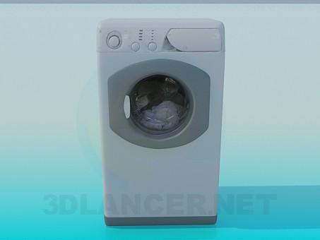 3d modeling Washing Machine model free download