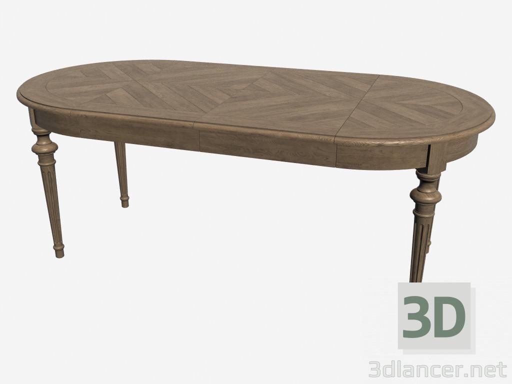 3d model dining table tenby 301 004 manufacturer for Table 3d model