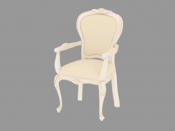 Dining chair with armrests (light) BN8810