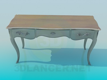 3d modeling Console model free download