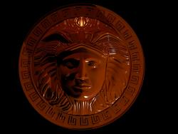 Греческий медальон